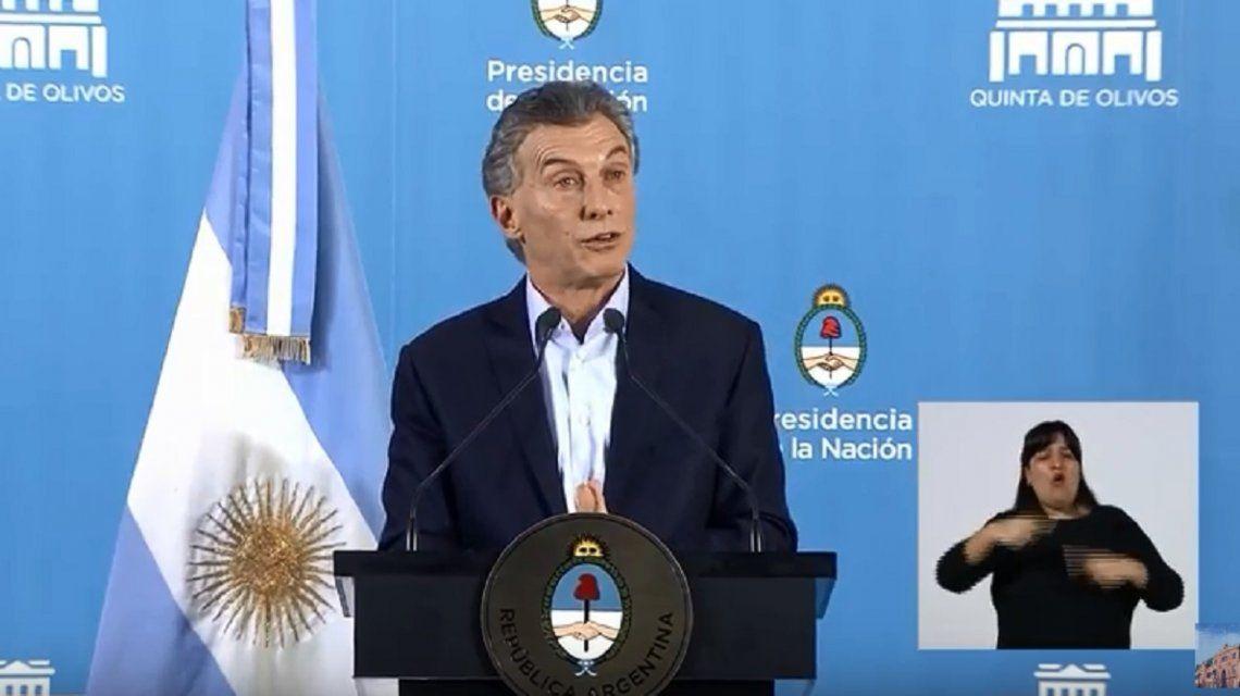 Para Macri, los despidos de Télam fueron porque no le daban un servicio eficiente a los argentinos