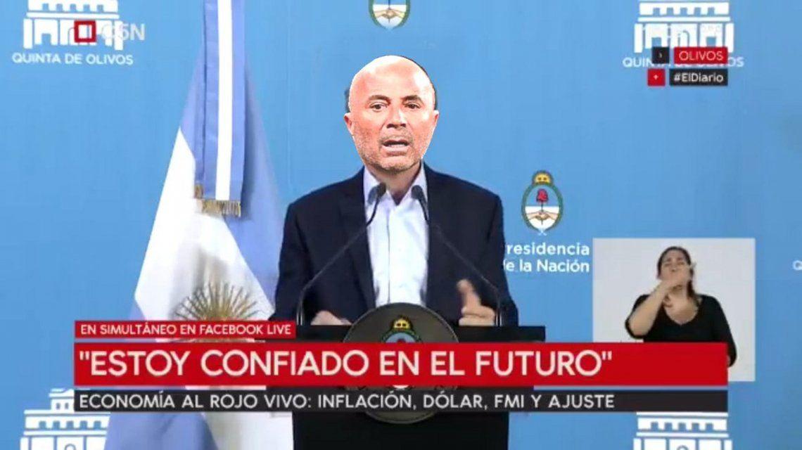 ¿Macri o Sampaoli? El meme de la CTA tras la conferencia de prensa del Presidente