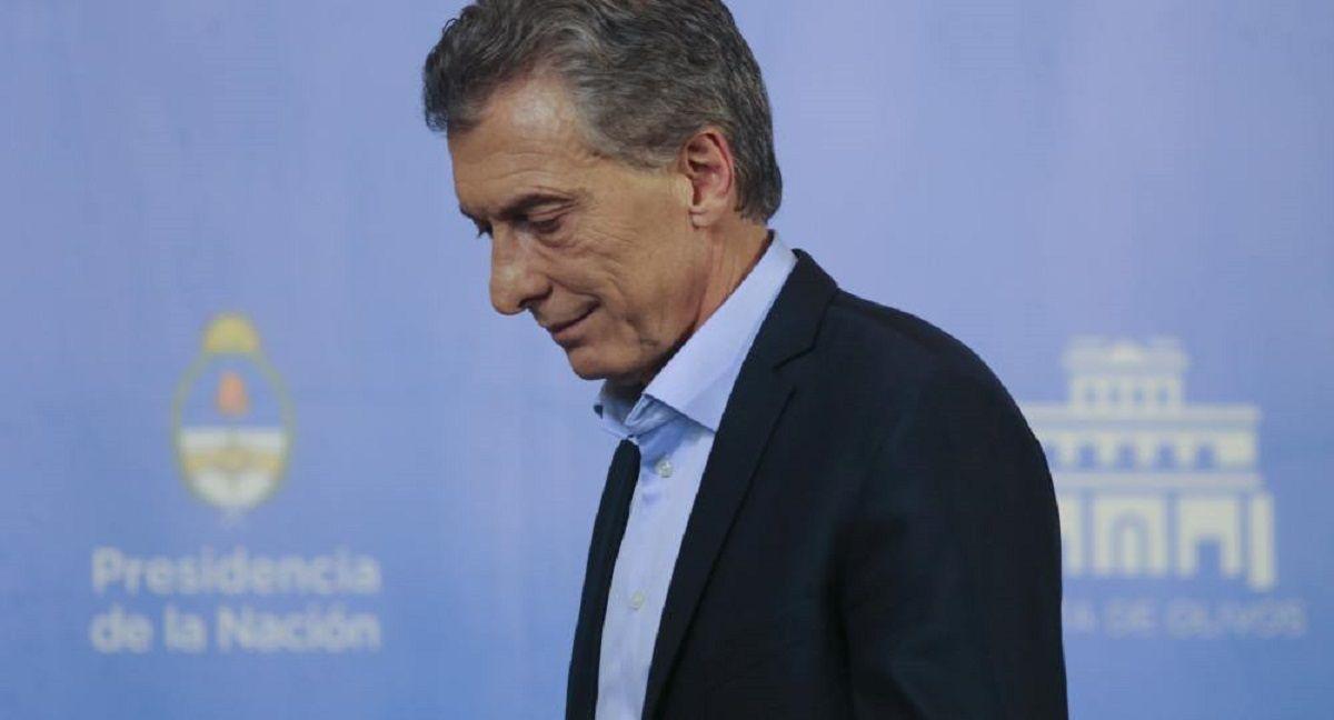 Tormenta, la palabra que utilizó Macri para evitar hablar de crisis