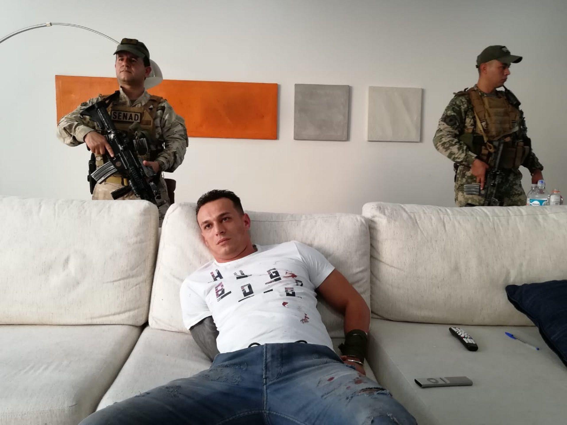 Detienen a uno de los narcos más temibles de Brasil: vivía en la casa de un ex futbolista argentino