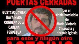 Un pueblo de Bahía Blanca pide que echen a un asesino que recibió arresto domiciliario