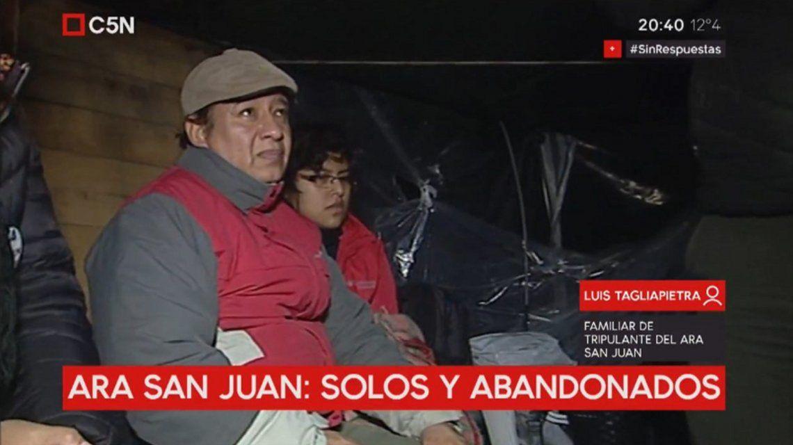 Los familiares del ARA San Juan
