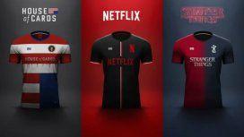 Así serían las camisetas de las series de Netflix si fuesen equipos de fútbol