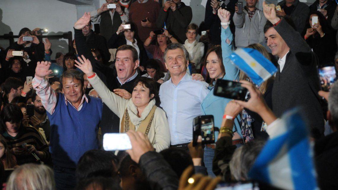Campaña de Cambiemos en Provincia - Crédito:@gracielaocana