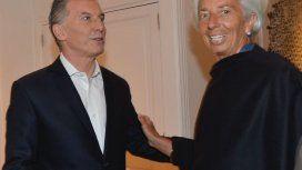 Mauricio Macri se reunió con Christine Lagarde