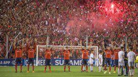 Nicolás Tagliafico encabezaba el saludo místico de Independiente