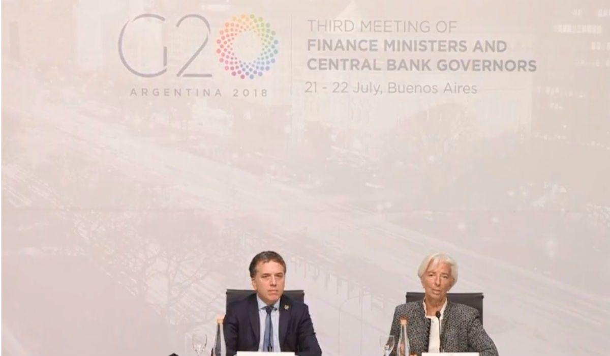 Advertencia de Lagarde a Dujovne: Las metas de inflación del FMI deben ser alcanzadas