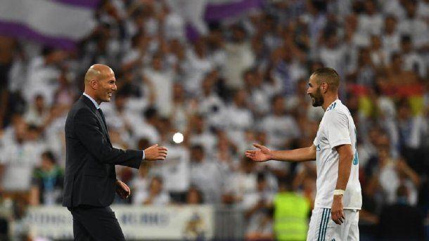 Karim Benzema y Zidane - Crédito: @Benzema