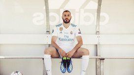 Karim Benzema - Crédito:@Benzema