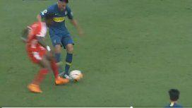 El error de Goltz en Boca ante Independiente de Medellín