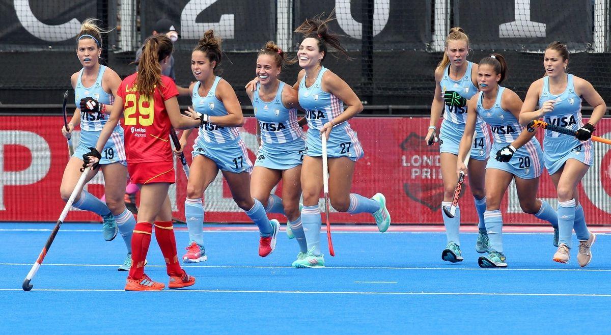 Las Leonas debutaron con un triunfo en el Mundial de Londres