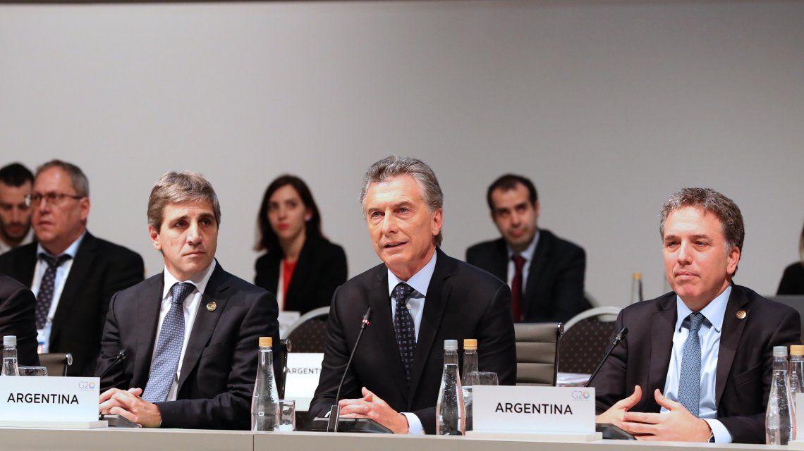 Macri agradeció a la comunidad internacional por el fuerte respaldo que le dio a su gestión