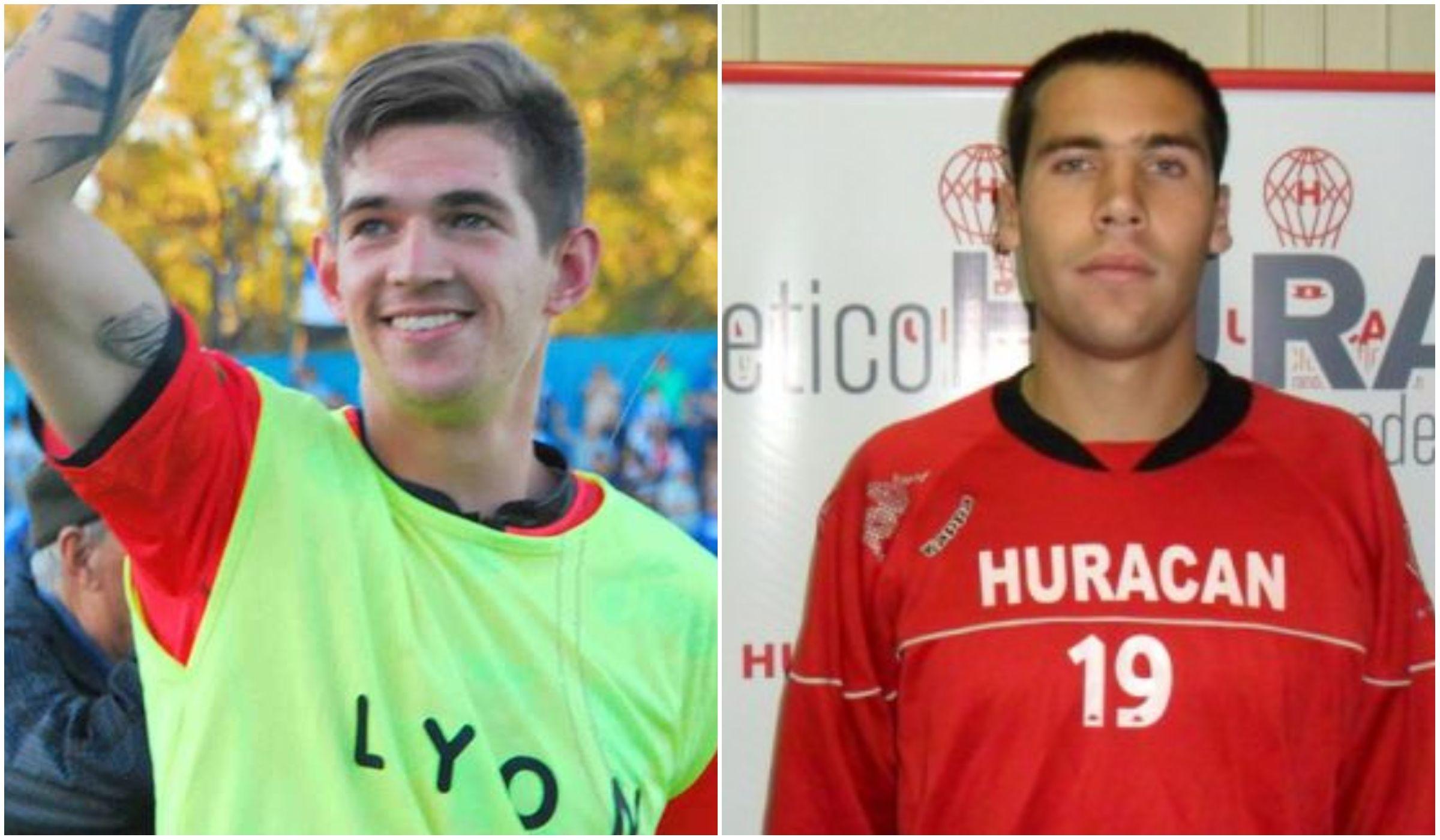 Facundo Espíndola y Nahuel Oviedo