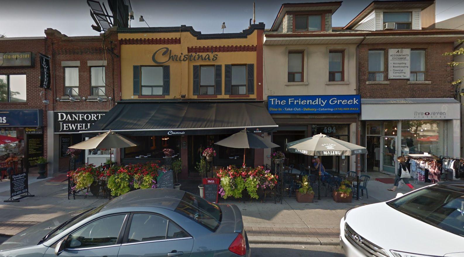Christinas se llama el restaurante de la masacre