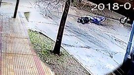 VIDEO: Un policía perdió un brazo en un accidente de tránsito en La Plata