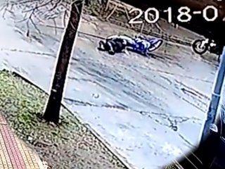 video: un policia perdio un brazo en un accidente de transito en la plata