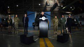 Es importante que las FF.AA. puedan colaborar en la seguridad interior, dijo Macri