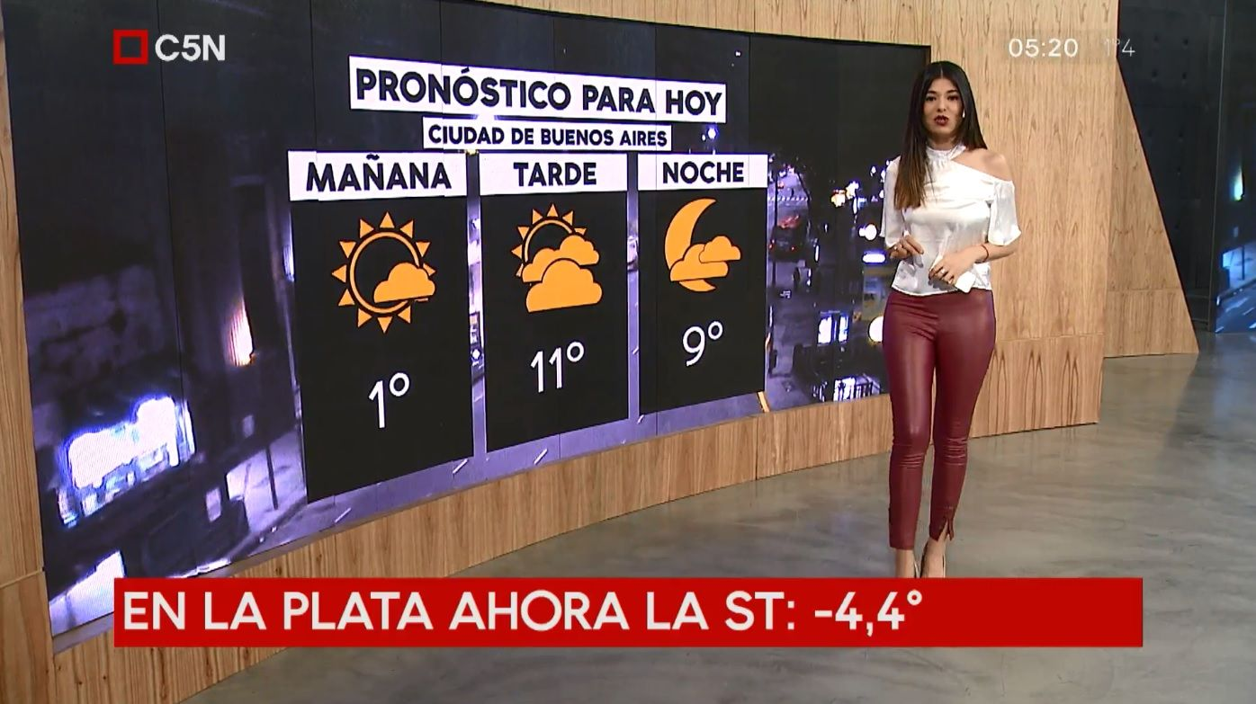 Pronóstico del tiempo del martes 24 de julio de 2018
