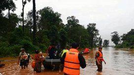 Otra tragedia en Asia: muertos y cientos de desaparecidos por el derrumbe de una represa