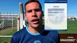 Nahuel Oviedo está acusado de asesinar a otro jugador