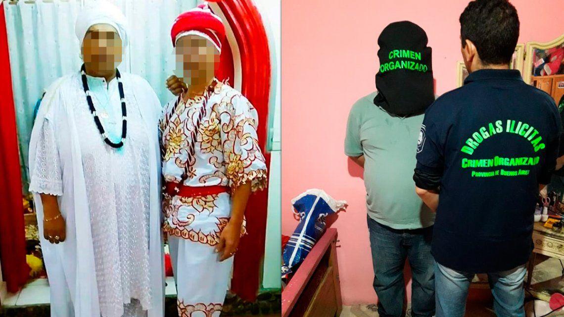 Pai Umbanda detenido