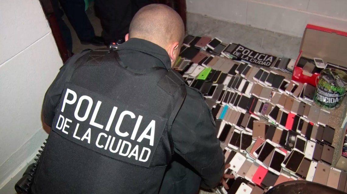 El robo de celulares no da tregua: hay más de cien mil casos en la Ciudad