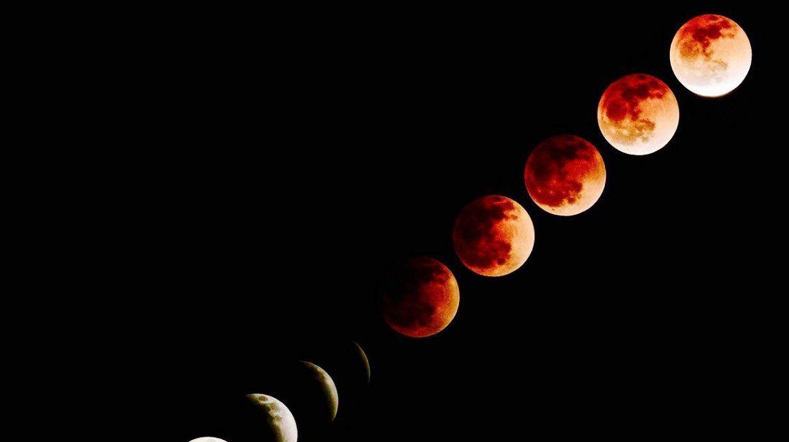 Se viene el ecplise lunar más largo del Siglo XXI