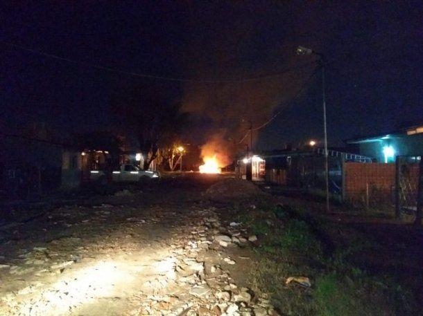 La zona donde se produjo el ataque a tiros a la casa. Foto: Perspectiva Sur.