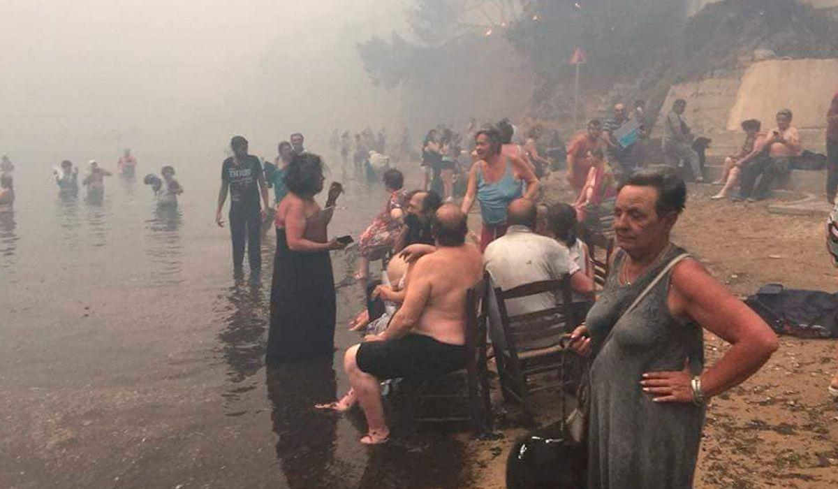 Incendios forestales en Grecia dejan al menos 60 muertos