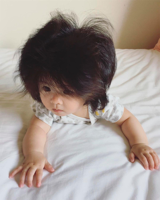 La beba tiene apenas siete meses