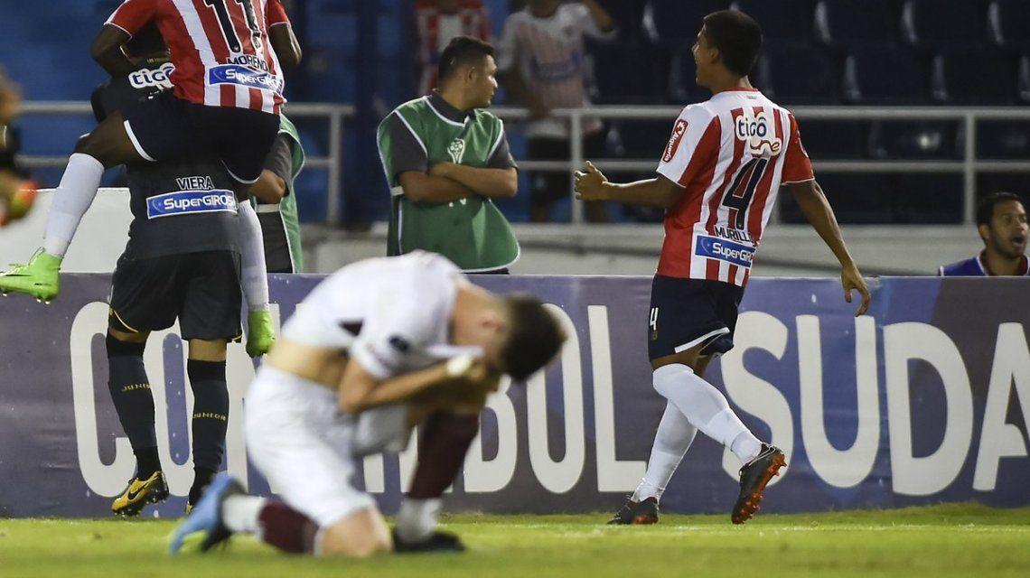 Junior de Barranquilla eliminó a Lanús de la Copa Sudamericana