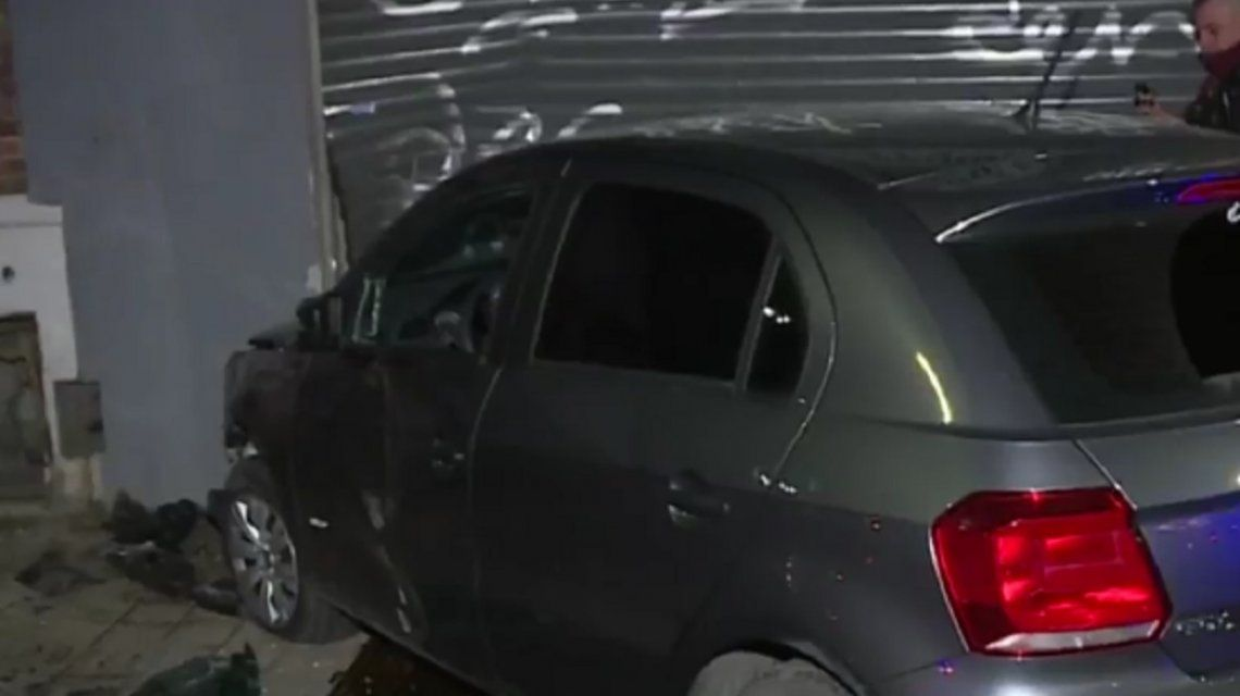 Accidente en Floresta: le pidió matrimonio a su novia y chocó