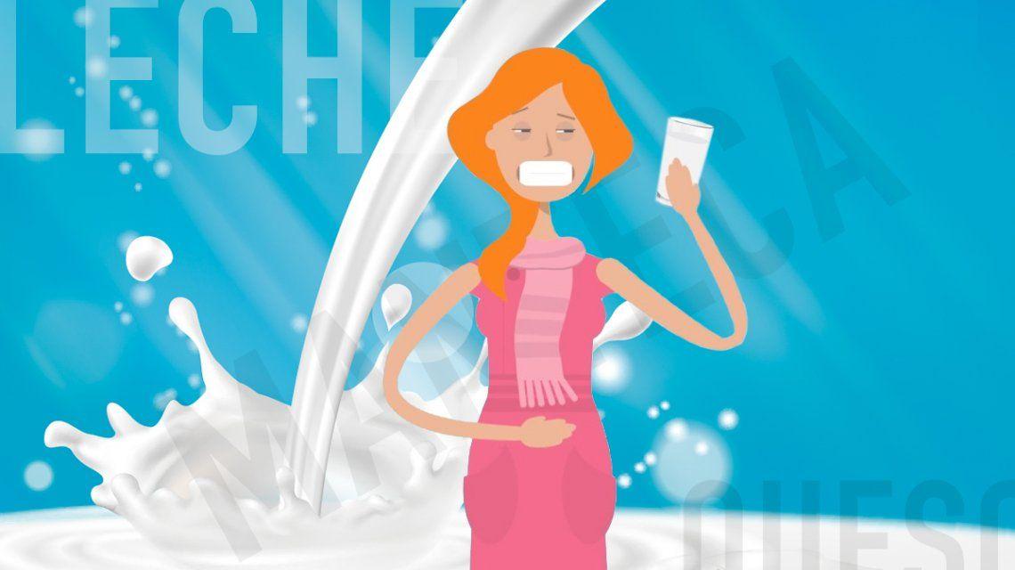Intolerancia a la lactosa: el trastorno que afecta a gran parte de la gente y la mayoría no lo sabe