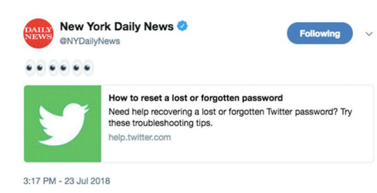 Un ex empleado compartió un link de cómo cambiar las contraseñas perdidas u olvidadas