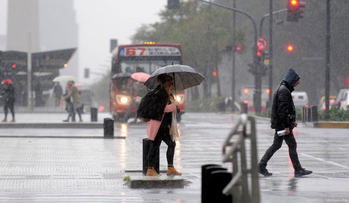 Alerta meteorológico en la Ciudad: pronostican lluvia y granizo