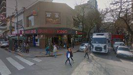 De película: golpe comando en un local de comida rápida de Belgrano