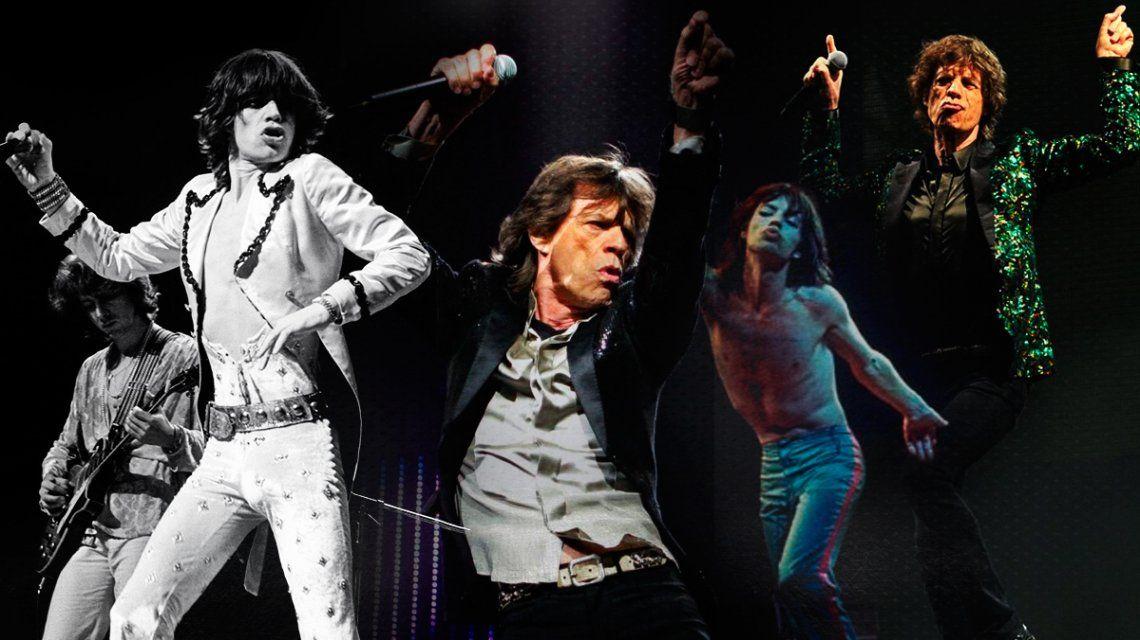 Los memes con los pasos de baile de Mick Jagger por su cumpleaños
