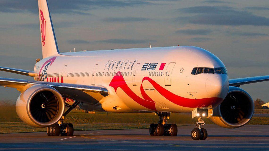 Un vuelo de Air China tuvo que regresar a París por una amenaza terrorista