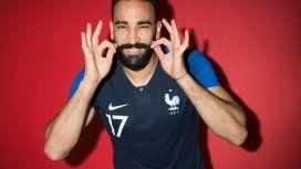 Adil Rami en la selección de Francia - Crédito:fifa.com