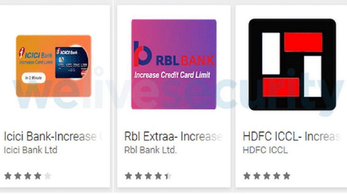Aplicaciones que roban datos de tarjetas de crédito