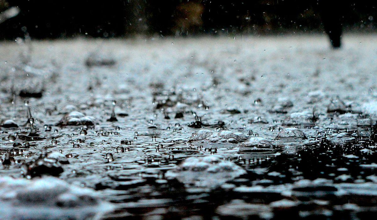 Las burbujas en los charcos, ¿son sinónimo de más lluvia?