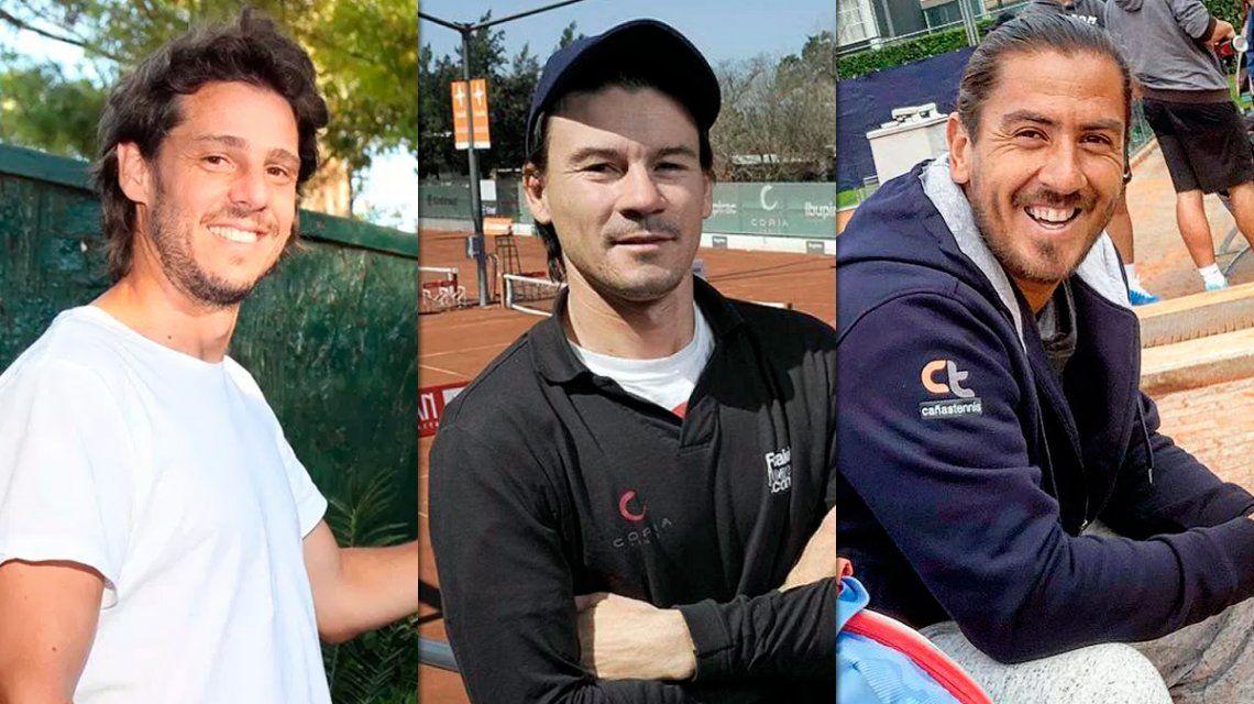 Bomba en el tenis argentino: Gaudio, Coria y Cañas son los nuevos capitanes del equipo de Copa Davis