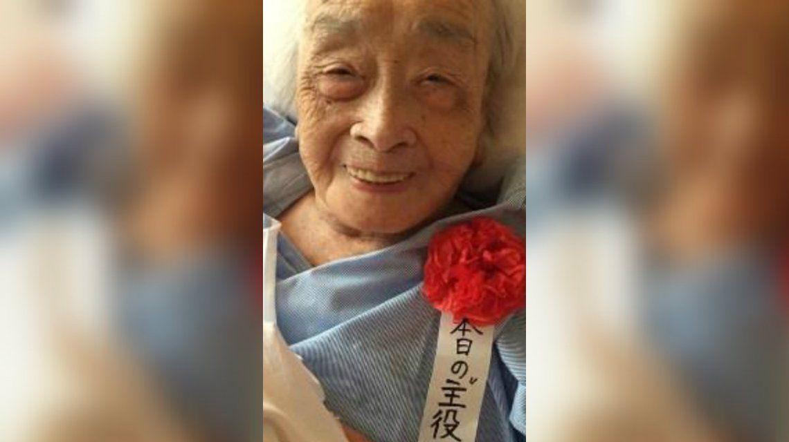 Miyako Chiyo murió el domingo pasado a los 117 años