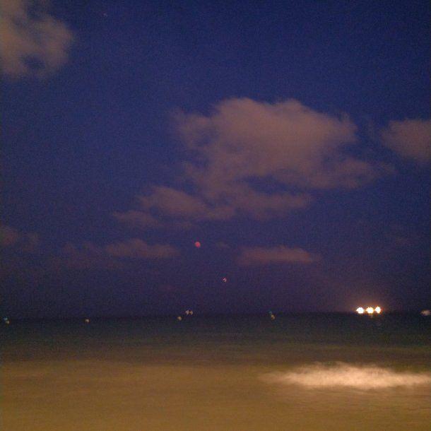 Eclipse de Luna roja - Crédito: @jmquintana2001<br>