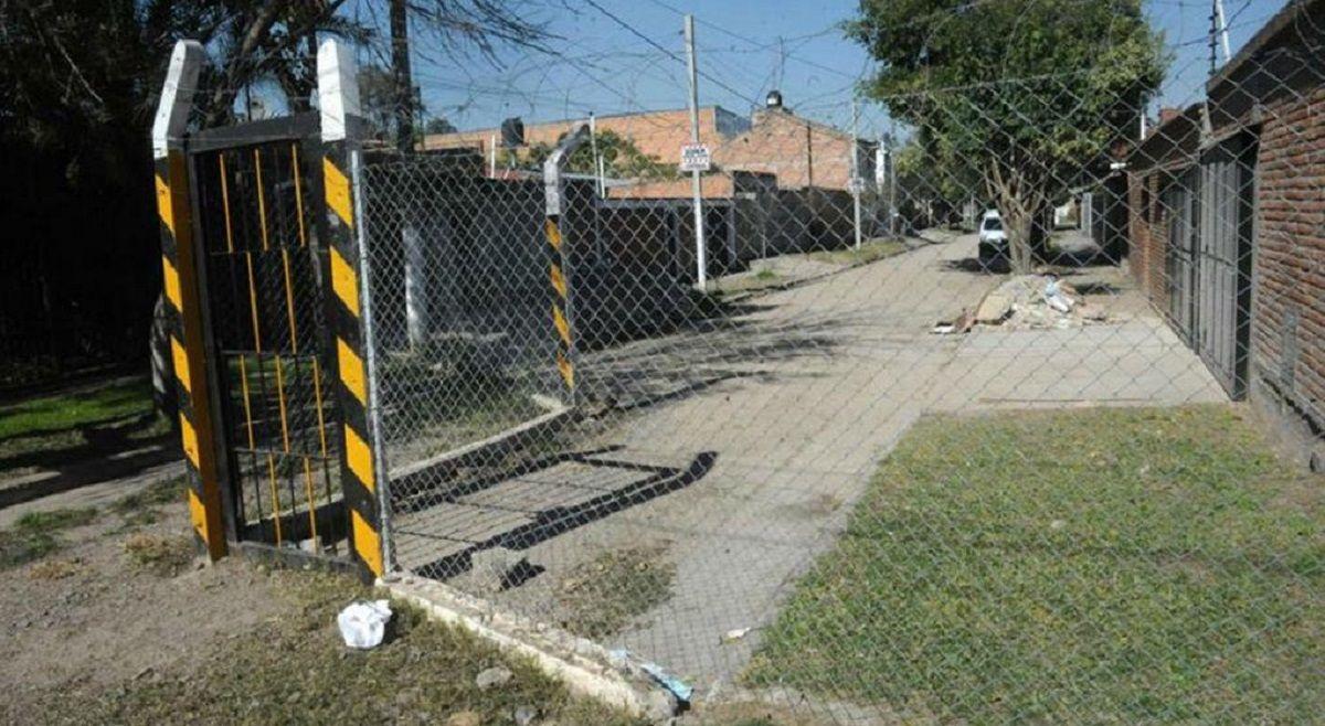 Alambraron una cuadra en Tucumán - Crédito: La Gaceta