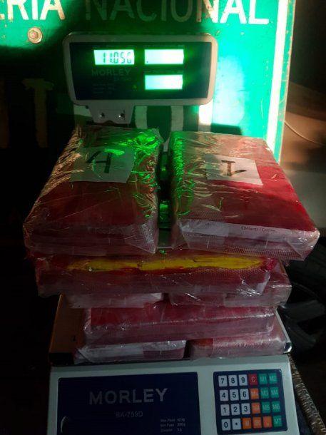 Incautaron 11 kilos de cocaina en Salta<br>