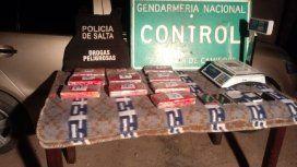 Incautaron 11 kilos de cocaina en Salta