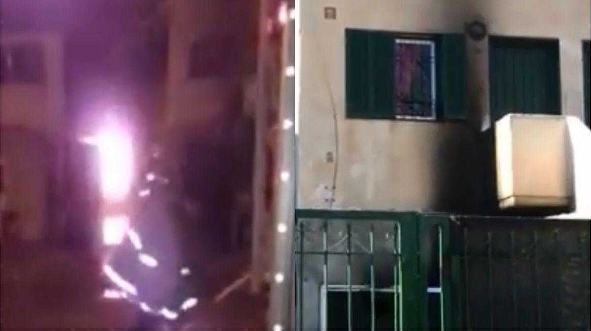 Incendiaron la casa de un presunto violador en Cipolletti