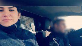 Hallaron incendiado el auto que usaron los delincuentes que mataron a Lourdes