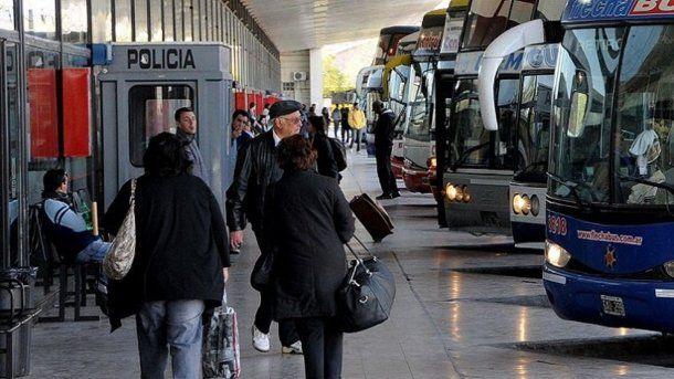 La denuncia fue presentada en el destacamento de la terminal local.